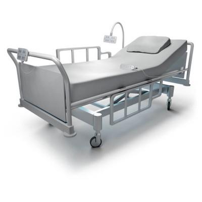 انواع تخت بیمارستانی دو شکن برقی و مکانیکی
