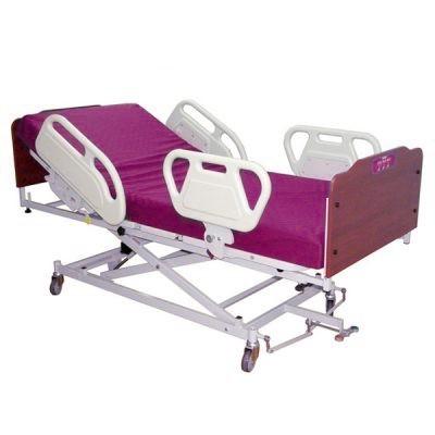تخت بیمارستانی فایبر ساده تنظیم ارتفاع دستی