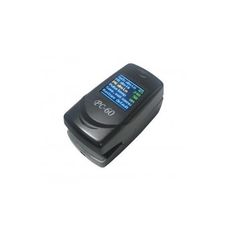 دستگاه اندازه گیری اکسیژن خون یا پالس اکسیمتر انگشتی PC60