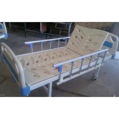 تخت ساده بیمار یک شکن با رویه تخت ABS